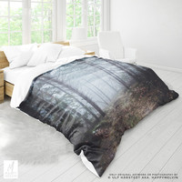 No roads | Duvet Cover | Duvet | Forest Duvet Covers | Nature Bedding | Forest Bedroom Decor | Nature Photography | Queen Twin | Home Decor