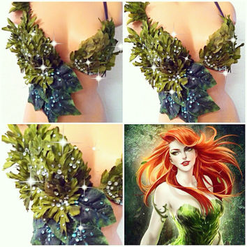 Poison Ivy Bra Top