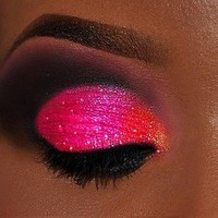 neon pink eyeshadow - Google Search