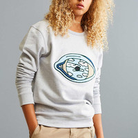 Quatre Cent Quinze Eye Crew Neck Sweatshirt - Urban Outfitters