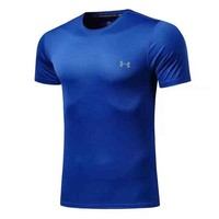 Under Armour Men Fashion Casual Letter Print Shirt Top Tee