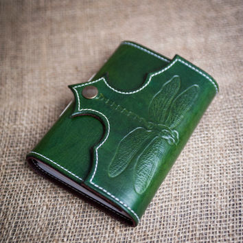 Leather Dragonfly Journal