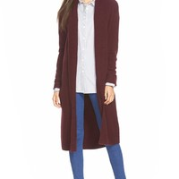 Leith Long Open Front Cardigan | Nordstrom