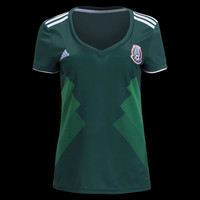 KU-YOU Mexico 2018 World Cup Home Women Soccer Jersey Personalized Name and Number