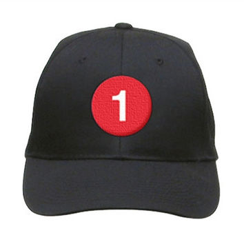 "1 Train Hat ""NYC SUBWAY LINE"""