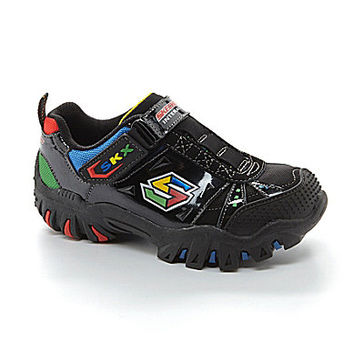 Skechers Boys' Damager Sneakers - Black/Multi