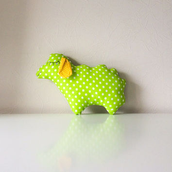 Free shipping, lamb toy, kids soft lamb, nursery decor