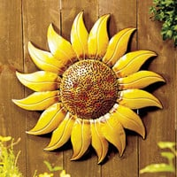 Giant Sunflower Wall Decor