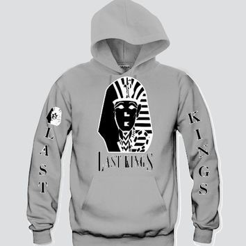 "Last Kings ""3Prints"" Unisex Hooded Sweatshirt Funny and Music"