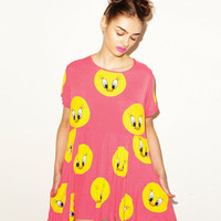 Lazy Oaf | Lazy Oaf x Looney Tunes Sweet Tweet Dress