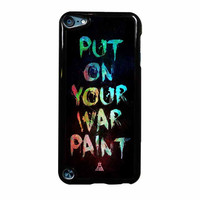 Fall Out Boy Put On Your War iPod Touch 5th Generation Case