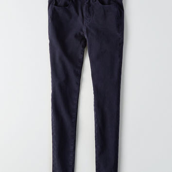 AEO Denim X4 Hi-Rise Jegging, Navy