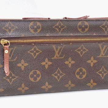 Auth Louis Vuitton Monogram Organizer Insolite Wallet M66566 LV 55115