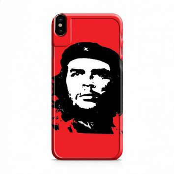 Che Guevara red bkg iPhone X case