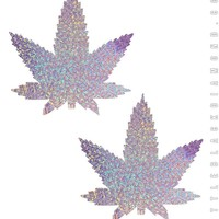 Weed Pasties in Lavender Hologram
