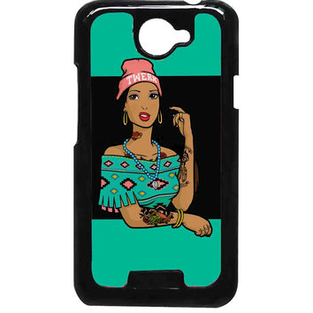 Pocahontas Hipster For HTC One X Case ***