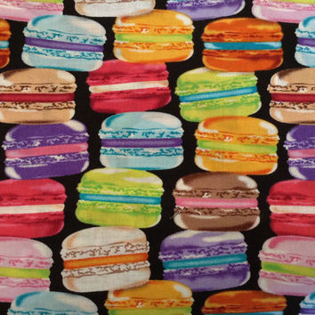 BTHY Bright French Macaron Fabric Very Rare Oop Vhtf amazing Macaroon