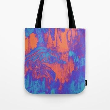 acidwash Tote Bag by DuckyB