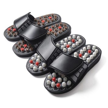 Sandal Acupressure Massage Medical Therapy Foot Care