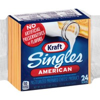 Kraft Singles American Cheese Slices, 24 count - Walmart.com