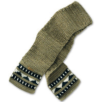Men's Cowichan Knit Scarf