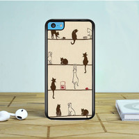 Cats Are Cute iPhone 5 5S 5C Case Dewantary