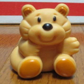 Vintage Fisher Price Rumple Bear Toy Dream Doll House Figure