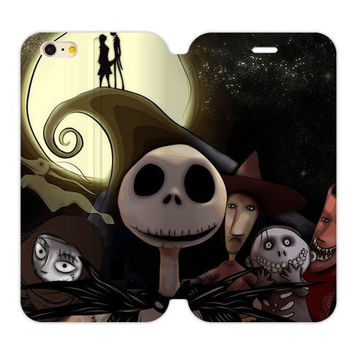 "Nightmare Before Christmas Flip Cover Case iPhone 6/6s PLUS (5.5"")"