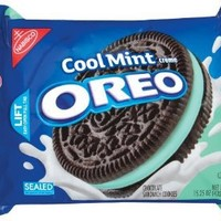 Oreo Cool Mint Cookies, 15.25 oz