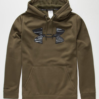 Under Armour Storm Rival Mens Hoodie Green  In Sizes