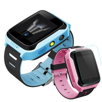Q528 Q42 Y21 Kids GPS Tracker Watch Kids Smart Watch with Camera Flash Light Touch Screen SOS Call Location Finder for Child