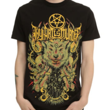 Thy Art Is Murder Evil Wolf T-Shirt
