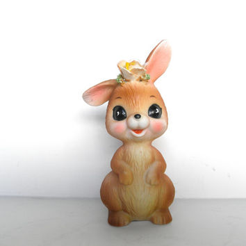 Vintage Easter Bunny George Good Vintage Lefton Bunny Figurine Porcelain