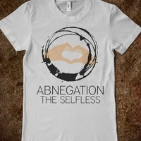 Abnegation-Female Silver T-Shirt