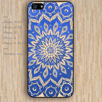 iPhone 4 5s 6 case cartoon sky fox mandala design flowers colorful phone case iphone case,ipod case,samsung galaxy case available plastic rubber case waterproof B655