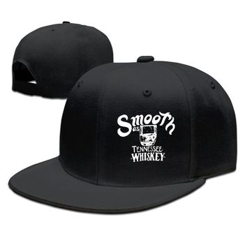 Smooth As Tennessee Whiskey Breathable Unisex Adult Womens Fitted Hats Mens Fitted Hats