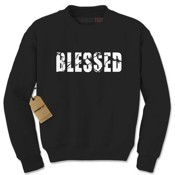 Blessed Adult Crewneck Sweatshirt