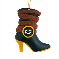Green Bay Packers Boot Ornament