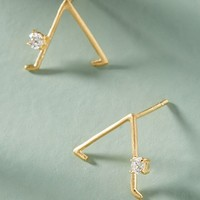 Downward Dog Post Earrings