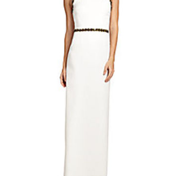 Tory Burch - Embellished Crepe Gown - Saks Fifth Avenue Mobile