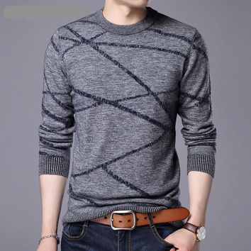 Striped - Men's Sweater