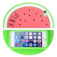 ONG Iphone 4 4s Rose Red 3D Watermelon Case for Iphone 4 4s