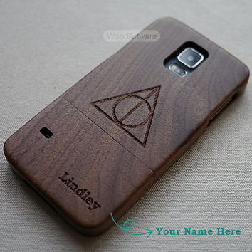 Harry Potter phone case, Wood Galaxy s5 Case, Custom Samsung Galaxy s4 Case, Wood Samsung s3 Case, Wood Samsung Case, Harry Potter - B4