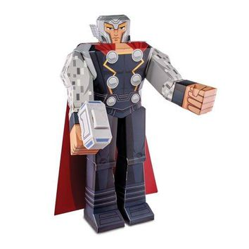 "12"" Thor Marvel Papercraft Action Figure"