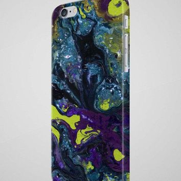 iPhone Case in Abstract Oil Painting iPhone 8 Case & many more sizes - Free Shipping