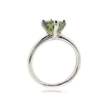 "SOLITAIRE RING ""PERIDOT"""