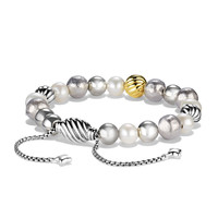 Spiritual Bead Bracelet, Pearl, 8mm - David Yurman