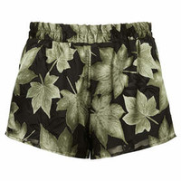 BURNOUT LEAF RUNNER SHORTS