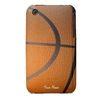 Basketball Ball Custom iPhone 3G Case Case-Mate iPhone 3 Cases from Zazzle.com