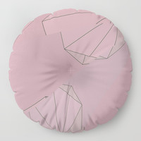 Shapes Shifted Floor Pillow by duckyb
